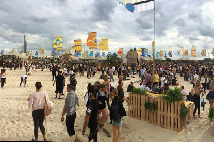 Corona SunSets Beach, Greenwich 2016-2017 - Events Agency ...