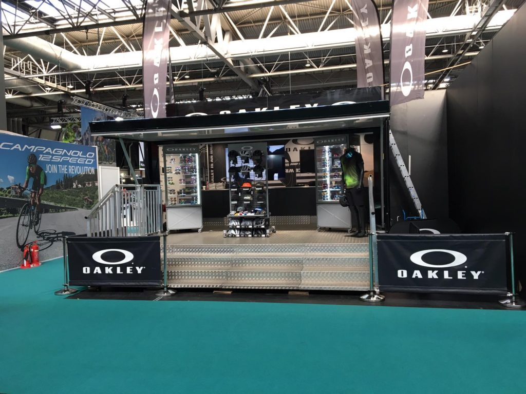 Oakley Trailer at the Cycle Show 2018